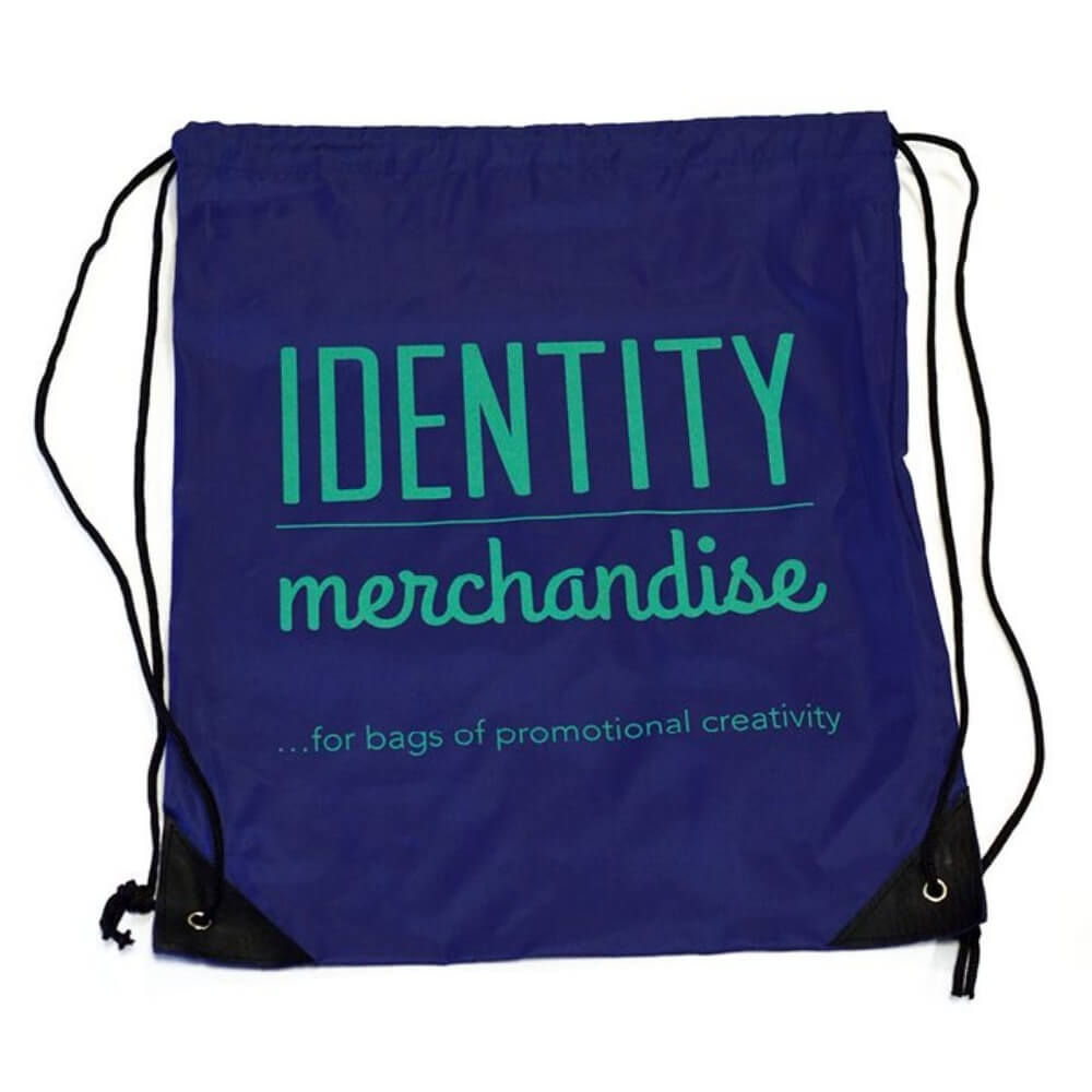 Branded Drawstring Bag.  Printed Bag
