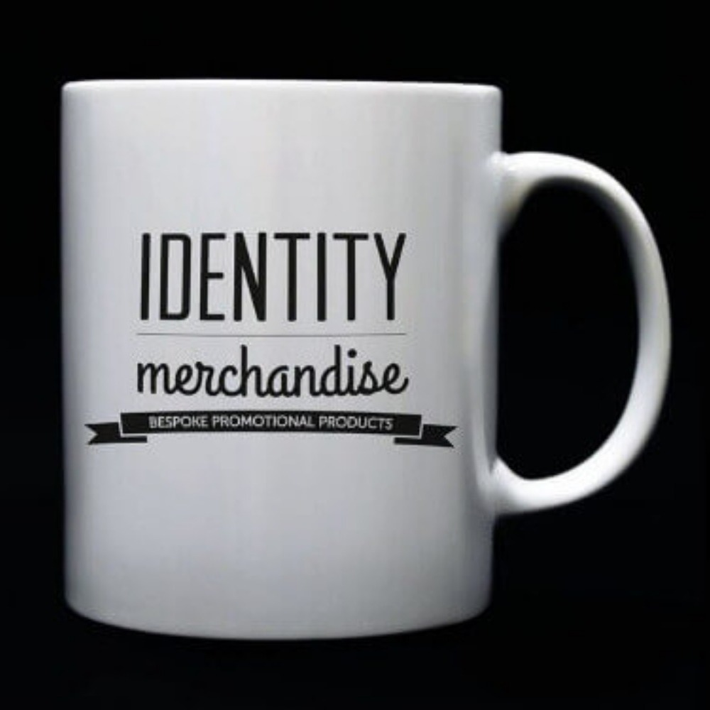 Classic branded promotional ceramic mug